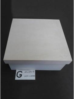G-caja acabada y personalizada