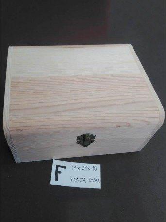 Caja oval