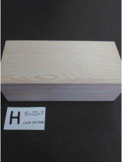 H-caja acabada y personalizada