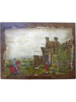 Castillo de los Templarios 1 con personajes