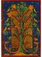 tabla con transferencia de arte medieval