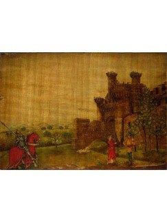 Castillo Templario Ponferrada 20x14cm