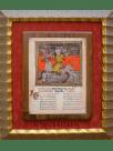 Mujer sobre bestia de siete cabezas del Beato de Santo Domingo de Silos